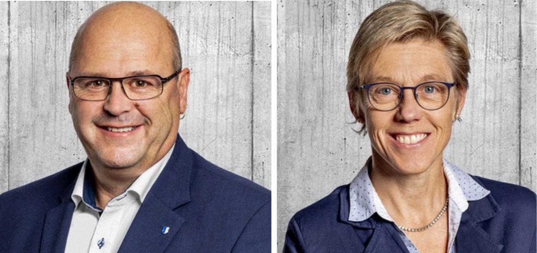 Philipp Bucher und Helen Schurtenberger treten für die FDP wieder an.