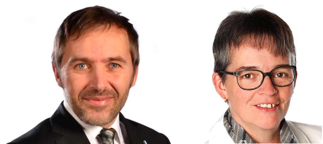 Die SVP geht mit Bernhard Steiner und Vroni Thalmann wieder ins Rennen.