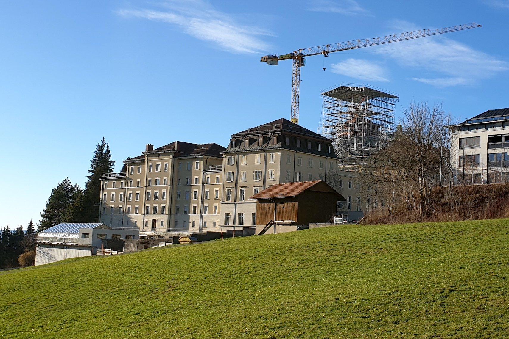 Südflügel des Klosters Menzingen.