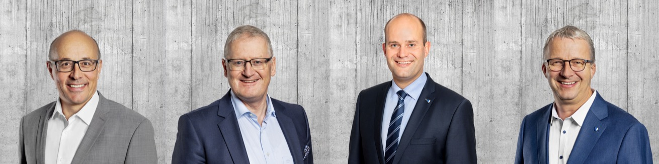 Die FDP-Delegation besteht aus Othmar Amrein, Rolf Born, Fabian Peter und Franz Räber.