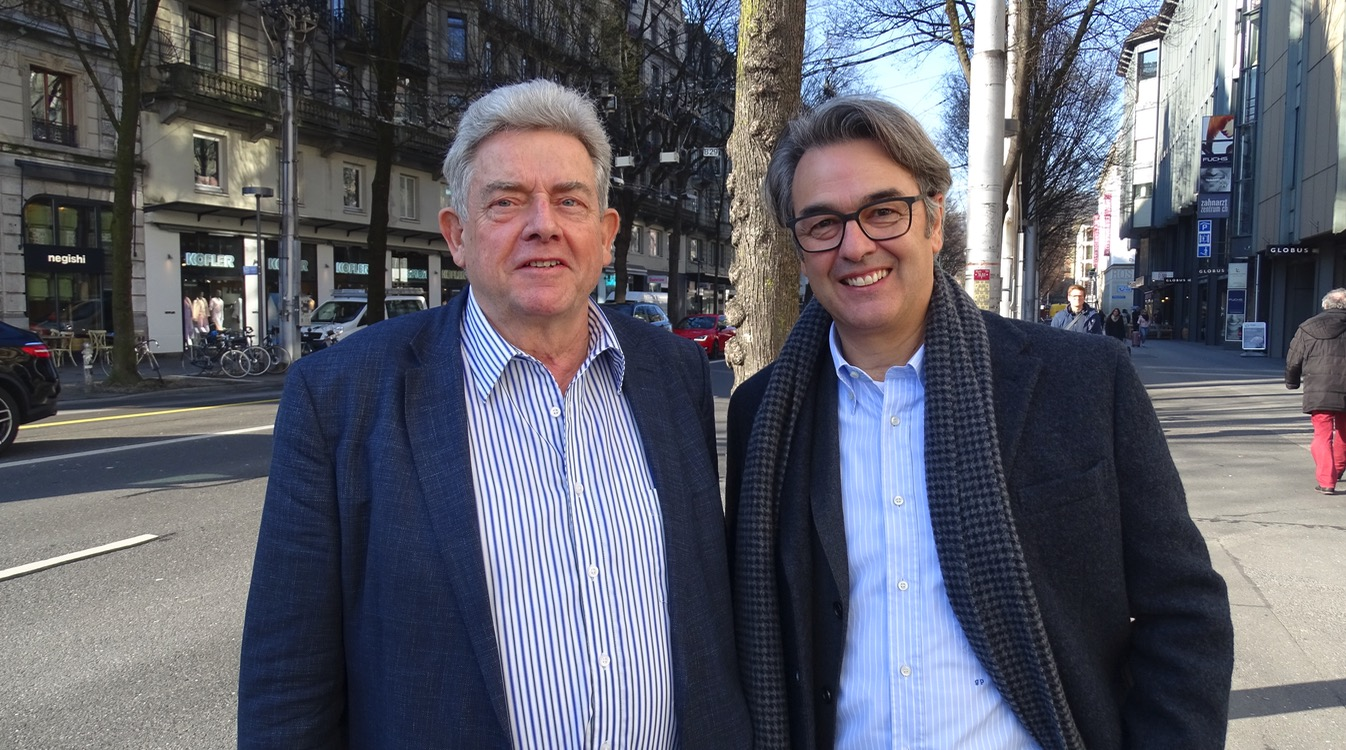 Herbert Widmer (links) und Giorgio Pardini prägten die Luzerner Politik über Jahre.