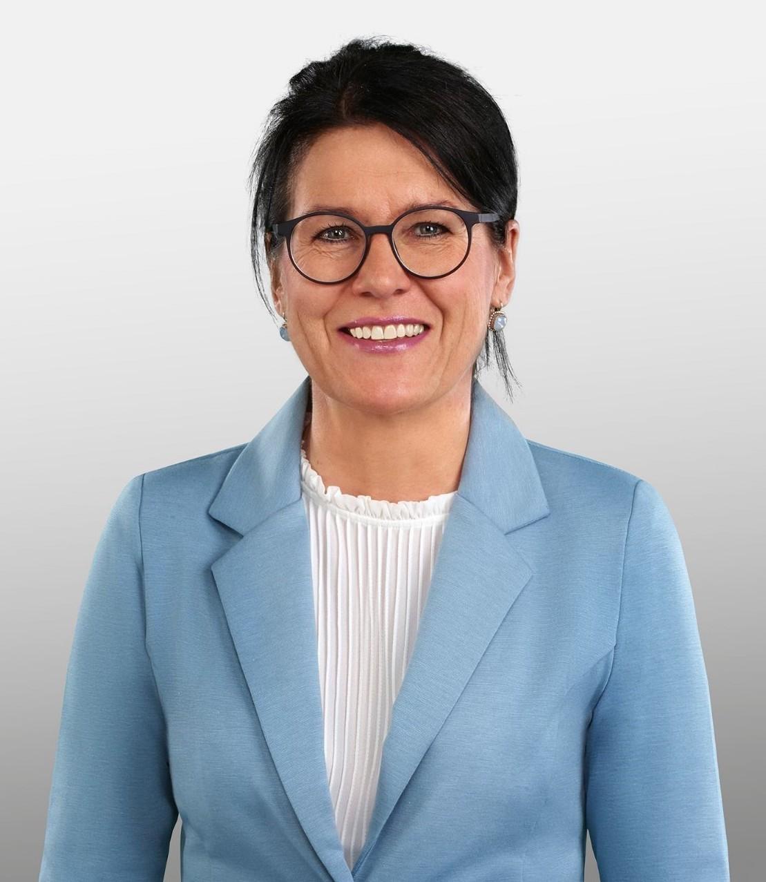 Renate Huwyler ist seit diesem Jahr Gemeindepräsidentin von Hünenberg.