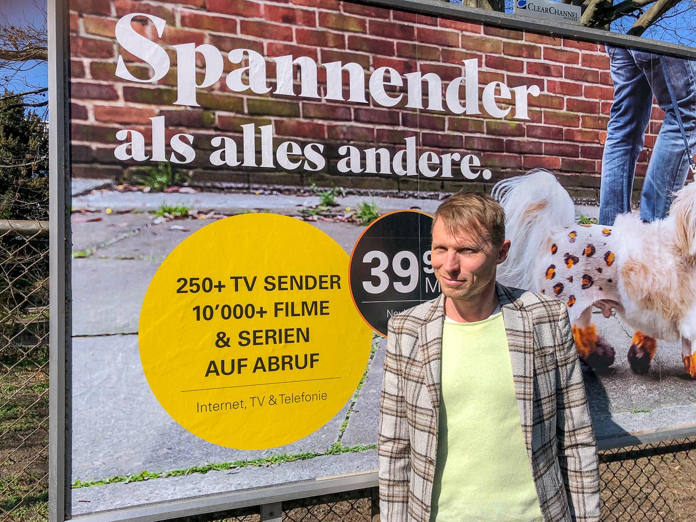«Es läuft immer ein Parallelfilm»: Christof Wolfisberg geht den abschweifenden Gedanken auf die Spur.