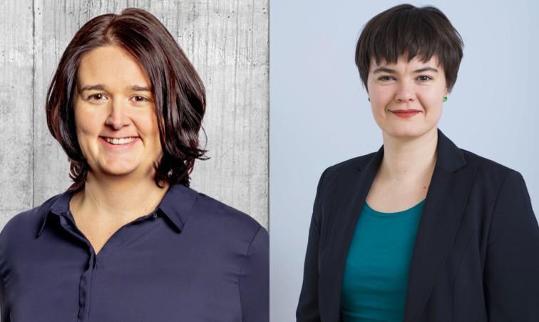 Ramona Gut (links) und Maria Pilotto kandidieren für den Luzerner Kantonsrat.