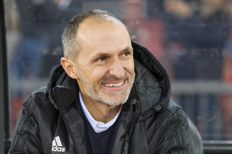 Thomas Häberli hat gut lachen: Der Start in seinen ersten Job als Cheftrainer ist ihm mit dem FCL bislang geglückt.