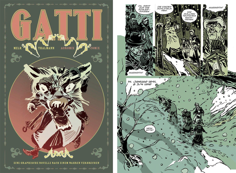 Cover von Thalmanns Graphic Novel mit dem doppeldeutigen Bild.