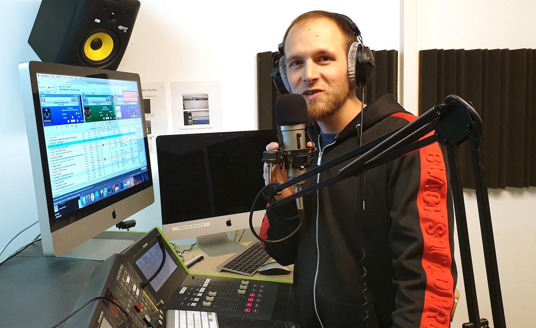 Raphael Häfliger, Geschäftsführer bei Radio Jam On, ist Reggae-Spezialist.
