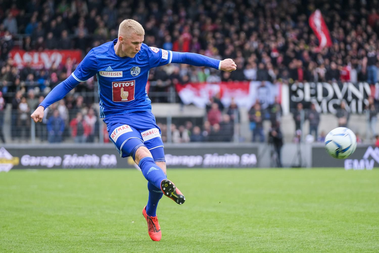 Der 24-jährige Marvin Schulz ist ein Leistungsträger, vortrefflich dazu geeignet, eine Stütze im FC Luzern der Zukunft zu sein.