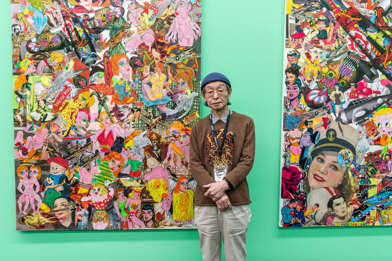 Vorreiter der japanischen Pop-Art: Keiichi Tanaami im Kunstmuseum.