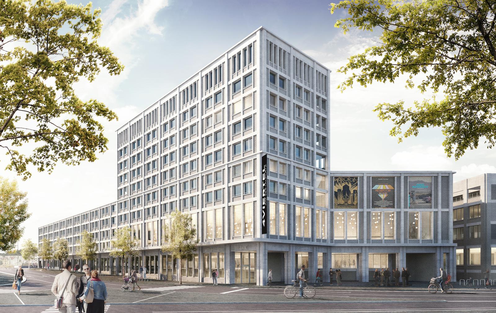 Der Spatenstich für den Neubau könnte laut den Verantwortlichen im Winter 2020 erfolgen. (Visualisierung: Nightnurse Images Gmbh)