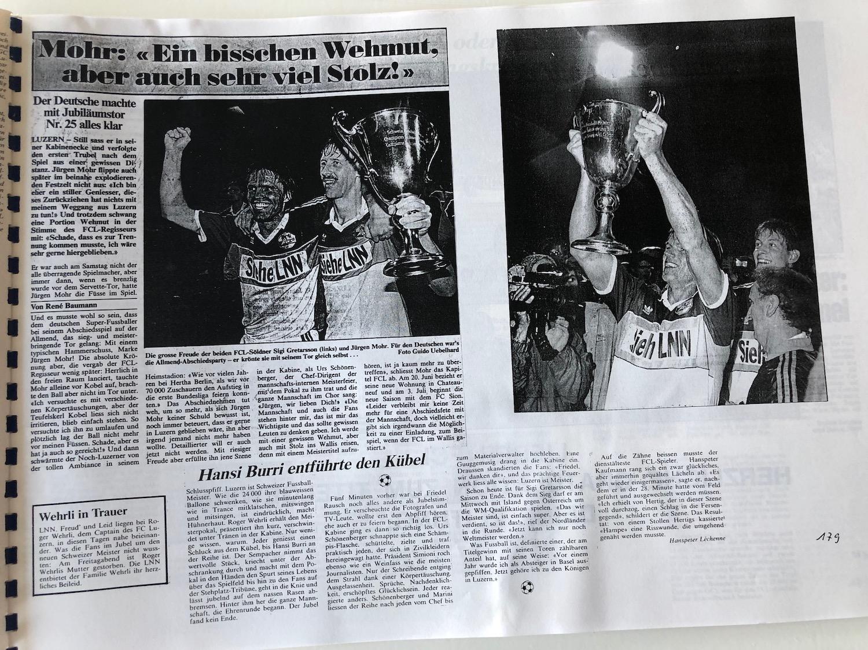 Die lange Meister-Nacht auf der Luzerner Allmend: Den Meisterpokal wollte kein Spieler mehr aus der Hand geben.