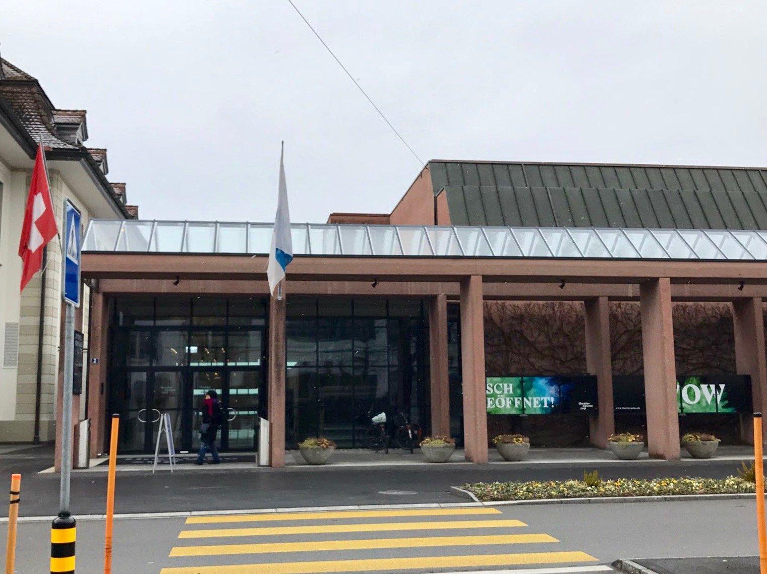 Sorgt immer mal wieder für Schlagzeilen: Das Theater Casino in Zug.