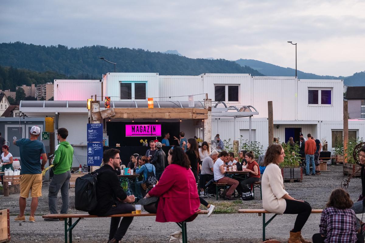 Das «Magazin» am Seetalplatz feiert das ganze Wochenende seine Eröffnung.