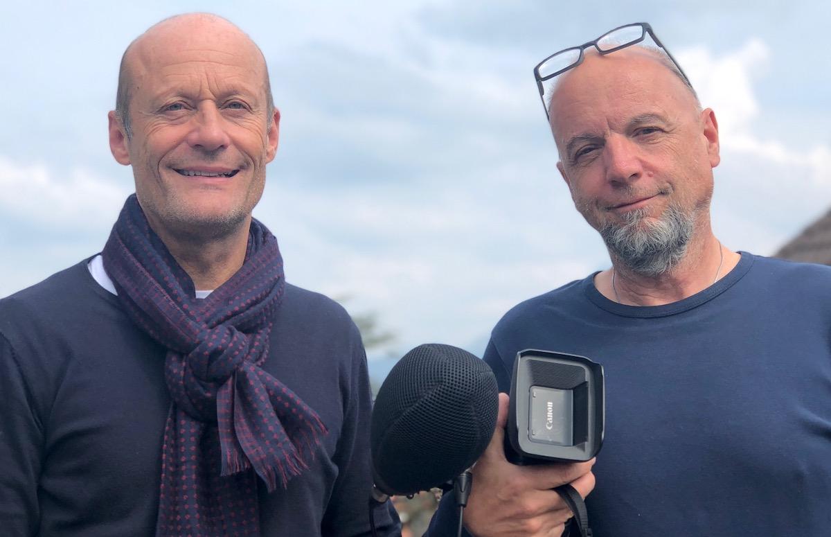 Entdeckten den Luzerner Krawall per Zufall: Jörg Huwyler (links) und Beat Bieri.