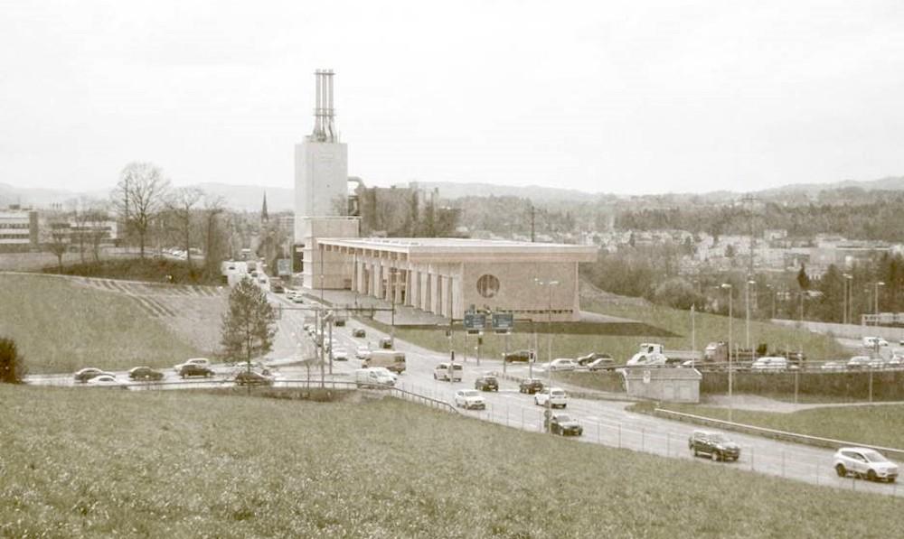 So soll das neue Recycling-Center beim alten KVA aussehen.