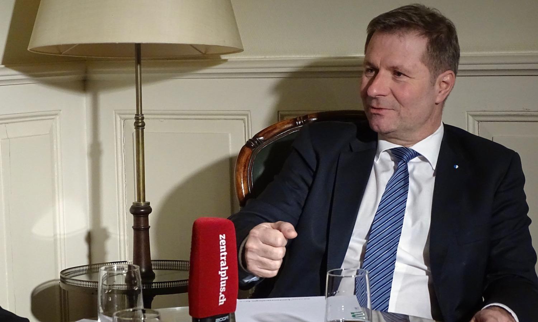Marcel Schwerzmann Regierungsrat Politik Kanton Luzern