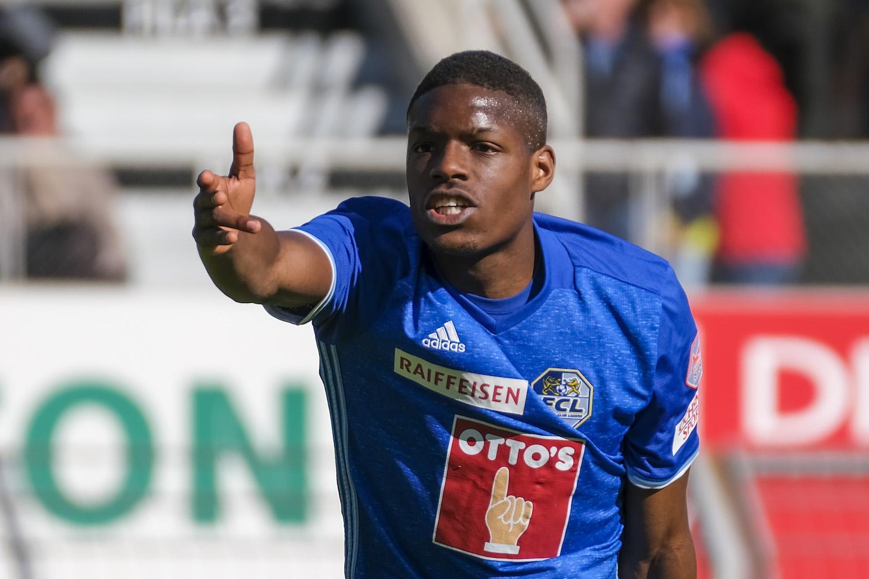 Er kann Fussball denken und lenken: William Tsiy Ndenge ist nicht nur Gladbacher wie Schulz, sondern auch ein aufstrebender Spieler im FC Luzern