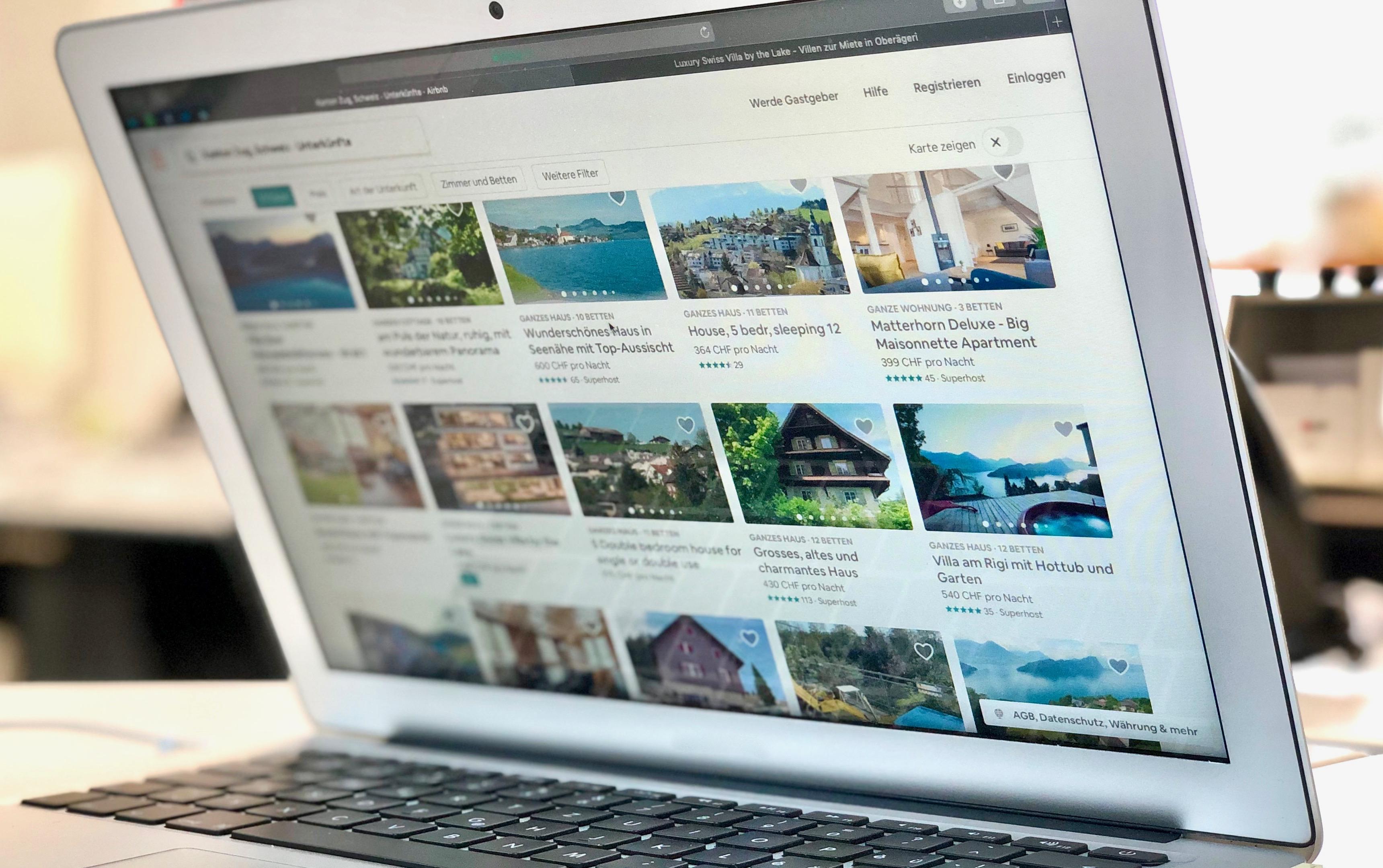 Im Kanton Zug gibt es fast 300 «Airbnb» Unterkünfte.