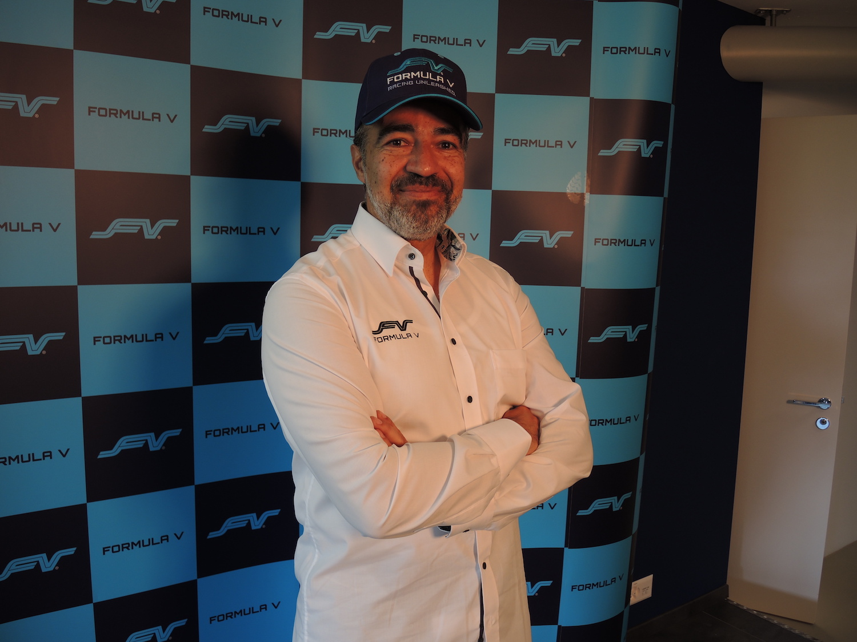 Francisco Fernandez hat mit der Formula V grosse Pläne.