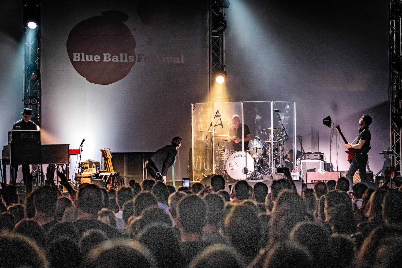 Volles Haus: Das Konzert vonAlanis Morissette war eines der wenigen ausverkauften dieser Blue-Balls-Ausgabe.