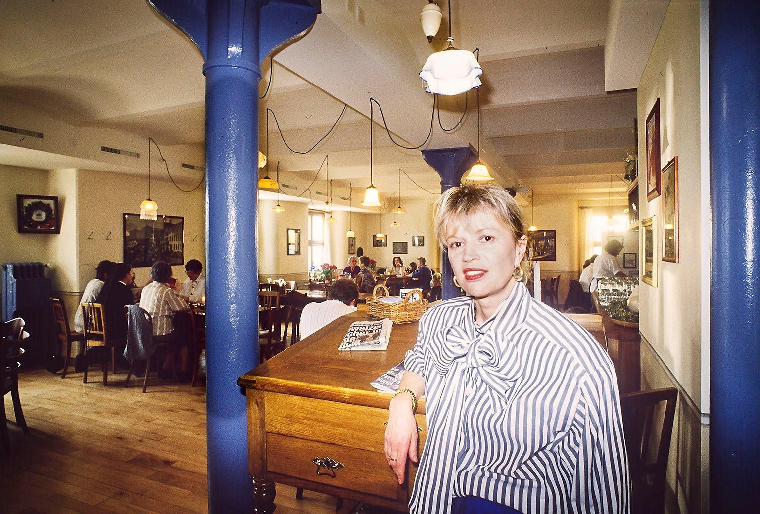 Ursula Gisler machte den Anfang als Wirtin der Milchsüdi.