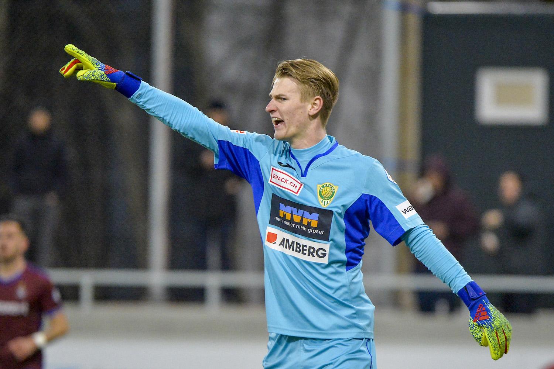 Seit der abgelaufenen Rückrunde die Nummer 1 des SC Kriens: Auch Simon Enzler hat Chancen, neuer Stammgoalie beim FCL zu werden.