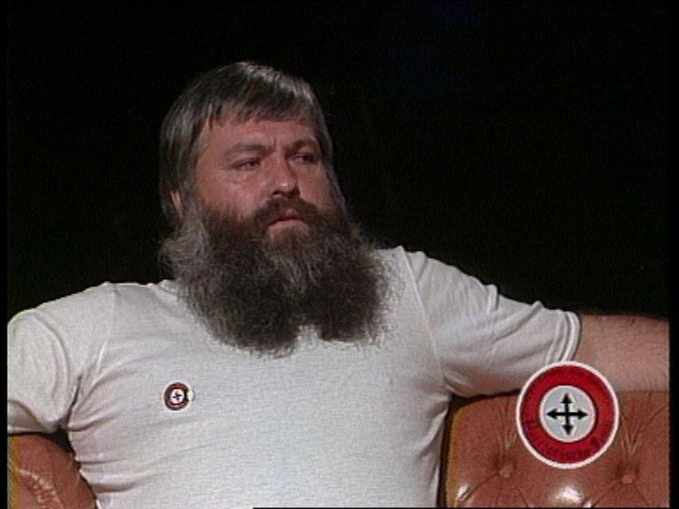 Marcel Strebel bei seinem Auftritt im «Zischtigs-Clubs». Hinter der Kamera sollte er für einen handfesten Skandal sorgen.