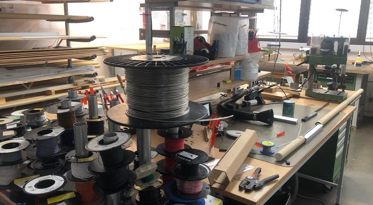 Swiss made: Blick in die Kreativwerkstatt der Luzerner Firma Baltensweiler.