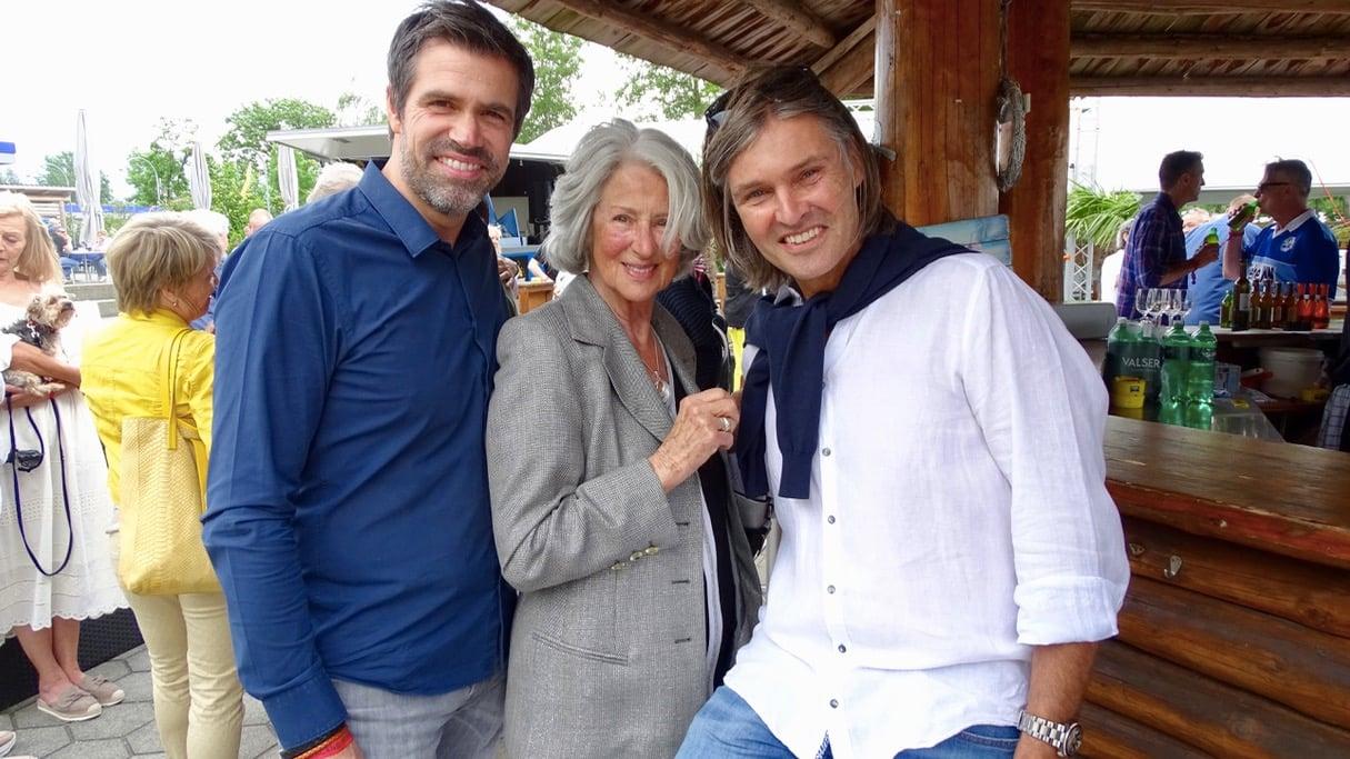 Familie Rausch fühlt sich Luzern noch immer sehr verbunden. Von links: Mark, Marlies und Ingo Rausch.