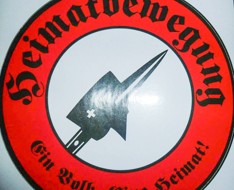 So sieht das Logo der Heimatbewegung mit Kurt Meili* aus.