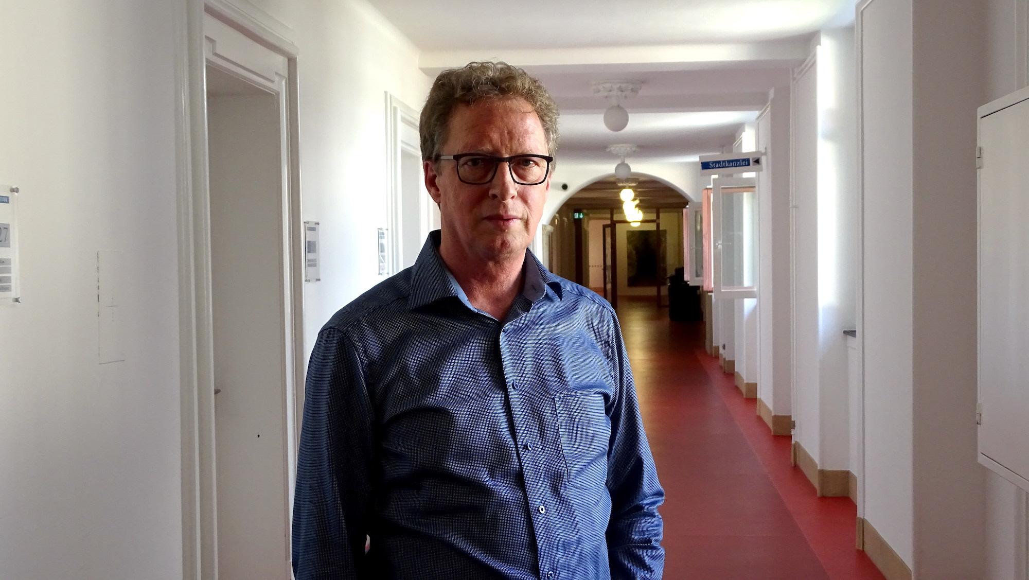 Bruno Gsteiger, Projektleiter Nutzungsplanung der Stadt Luzern.