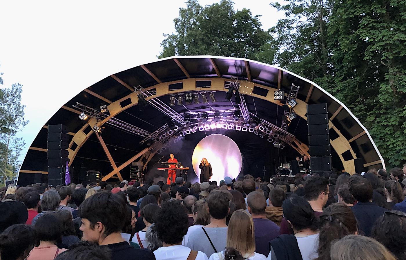 Der wichtigste Name des Festivals: Kate Tempest überzeugte am Donnerstag rundum.