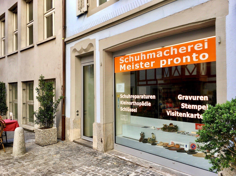 Sein Schumachergeschäft im Süesswinkel verkaufte Jakob Adlun 2012 an zwei Italiener.