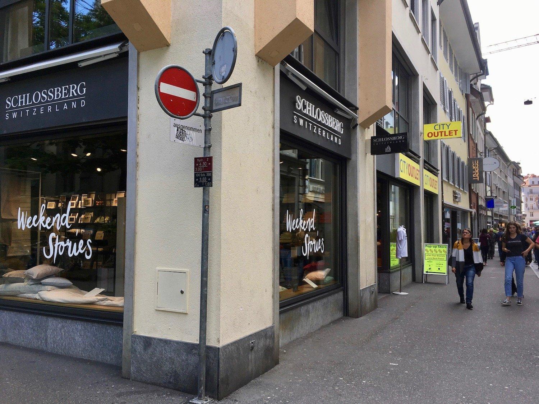 In diesem Lokal an der Hertensteinstrasse machte Jakob Adlun seine ersten Schritte als Luzerner Gewerbler.