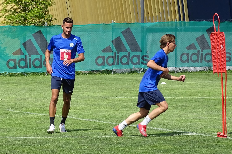 Ein neues und ein altes neues Gesicht beim FCL: Daniel Follonier (links) und Lars Karrer.