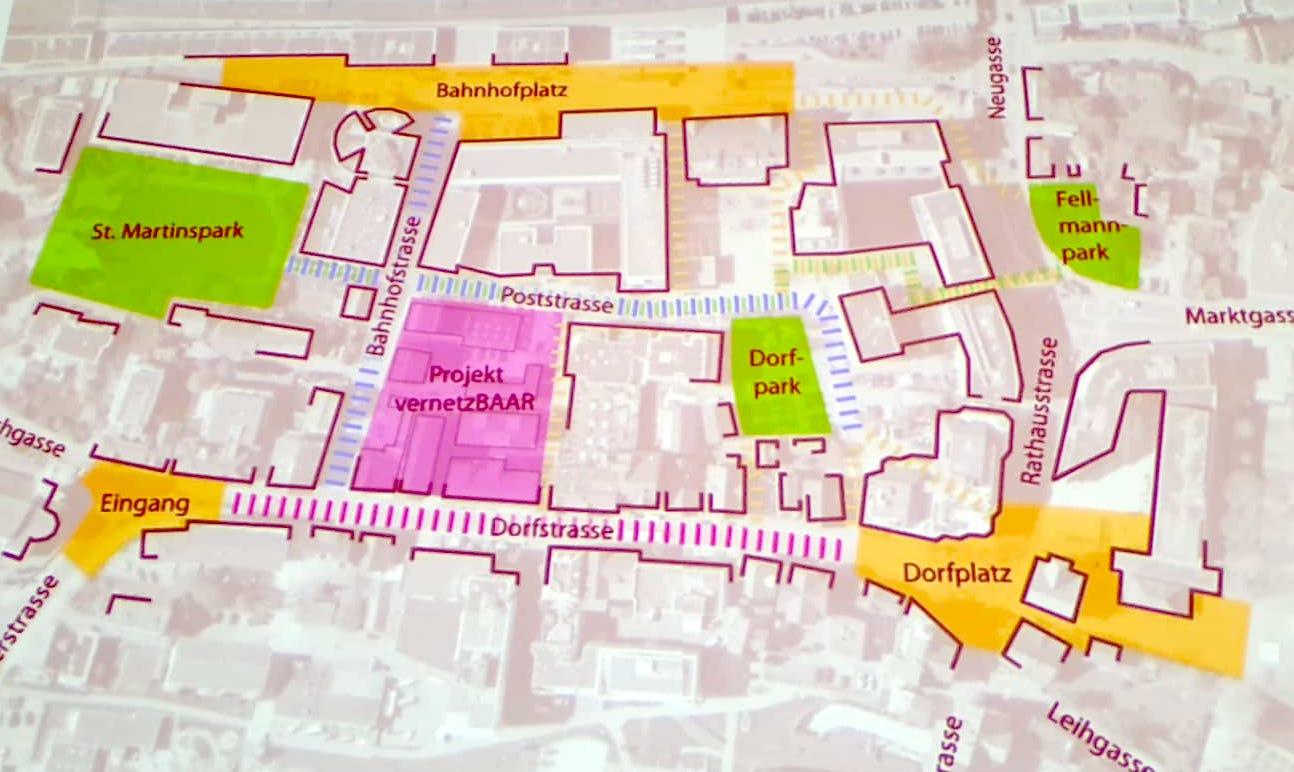Nutzungskonzept des Netzwerks Altstadt für Baar.