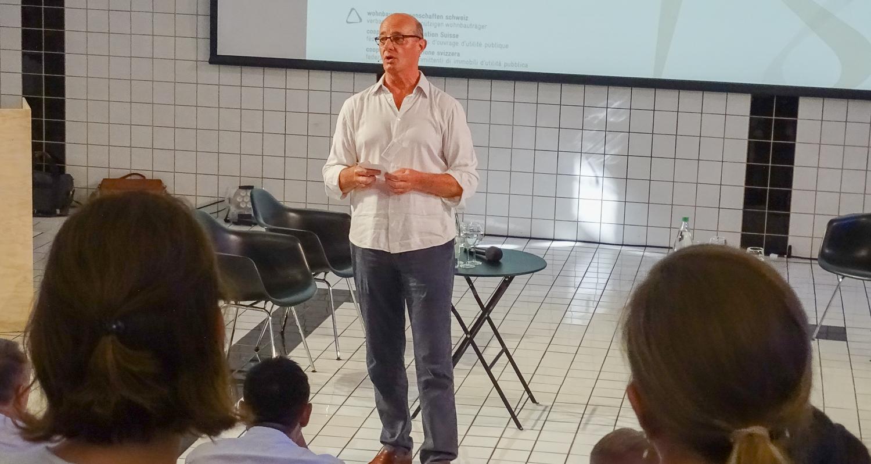 Der Luzerner Alt-Nationalrat Louis Schelbert ist Präsident der Wohnbaugenossenschaften Schweiz.