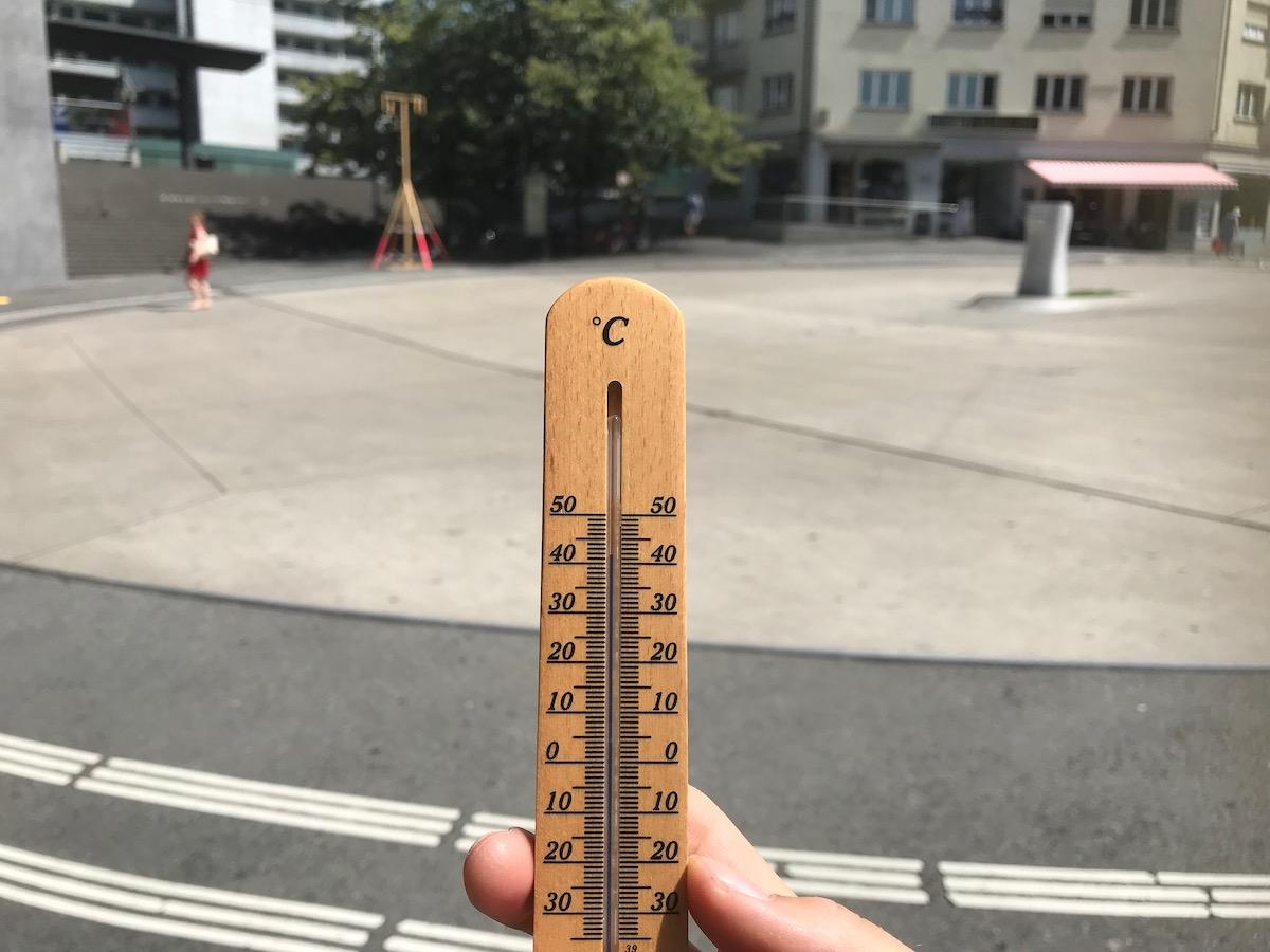Sage und schreibe 42 Grad warm wird es an diesem Ort.