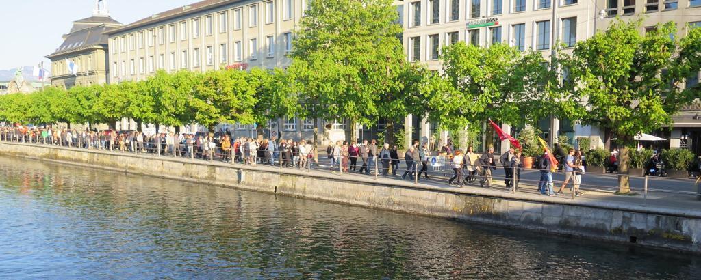 Corona-Demo in Luzern: Anzeige gegen Nicolas Rimoldi erleidet Schiffbruch